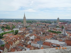 Bruge from above.