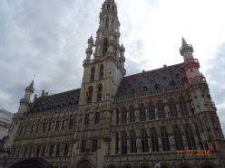 Brussels. Don't know what the building was.